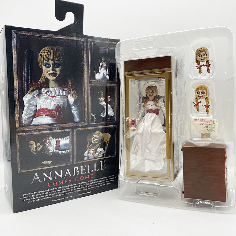 NECA Ultimate Annabelle Comes Home Action Figure The Conjur-ing On Hand Now 18cm 7inch