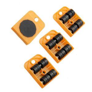 1/4 шт мебельный передвижной транспортный подъемник Тяжелые материалы 4 колесные роликовые ручные инструменты 37MD