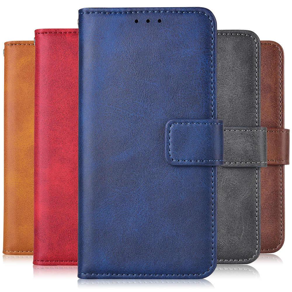 ل على فون 11 حالة الوقوف Luxucy عادي محفظة جلدية حقيبة لهاتف أي فون 11 برو 6 6S 7 8 زائد X XR XS ماكس فليب غطاء الهاتف حقيبة