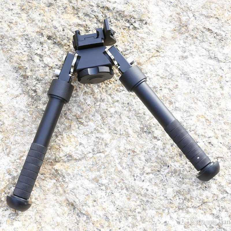 Outdoor Sports High-End Equipment Two Tripod 20Mm Sniper Bracket V8 Universal Tripod Telescopic Folding Quick Demolition 360 Deg