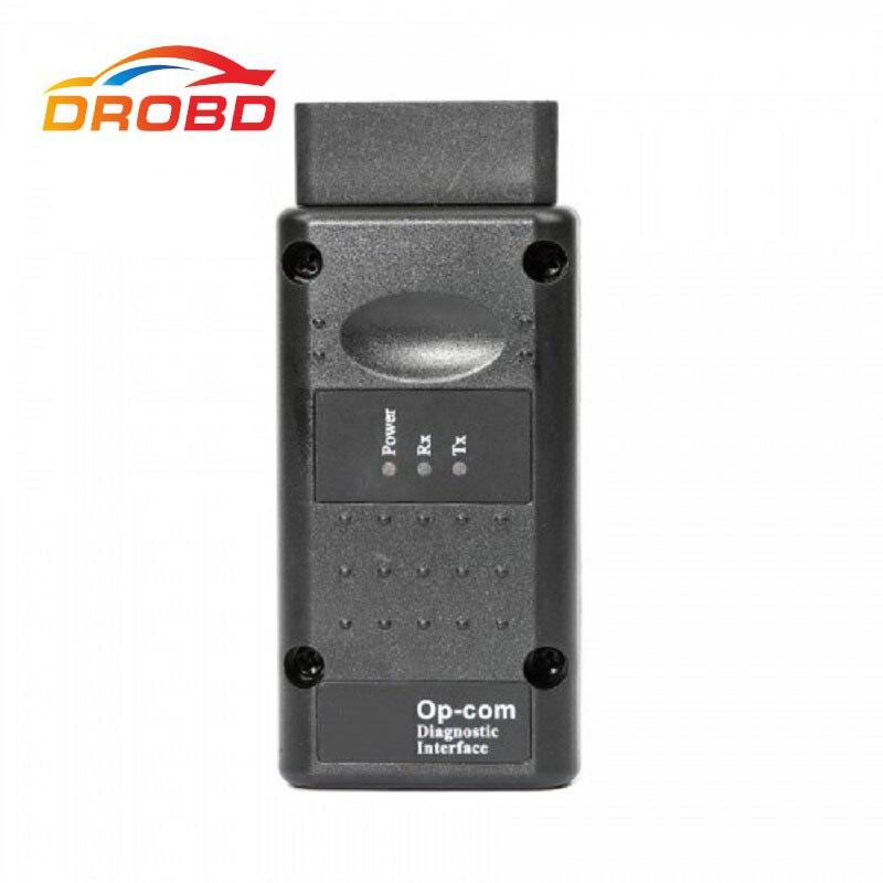 V1.99 v1.95 OP-COM com pic18f458 obd2 ferramenta de diagnóstico automático obd2 scanner OP-COM/opcom para opel vauxhall suporte flash firmware