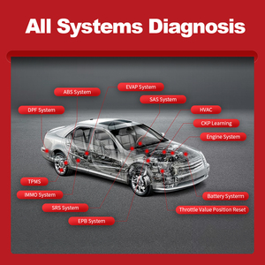 Image 3 - Thinkcar Thinkdiag OBD2 스캐너는 모든 시스템을 지원합니다 1 년 모든 소프트웨어 무료 전문 진단 도구보다 Diagzone