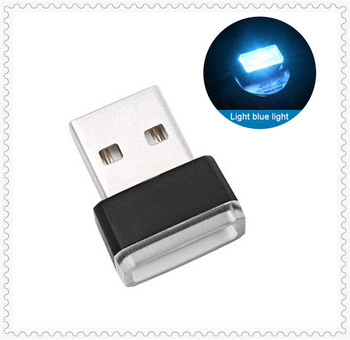 Car Accessories Atmosphere Light USB LED Mini for Honda 2003 ACCORD 1998 2005 2013 CMC 2012 2013 2008 CR-V 2004 image