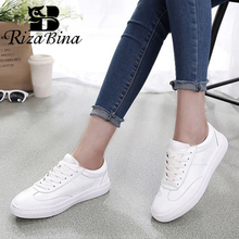 RIZABINA Women Vulcanized Shoes Leather