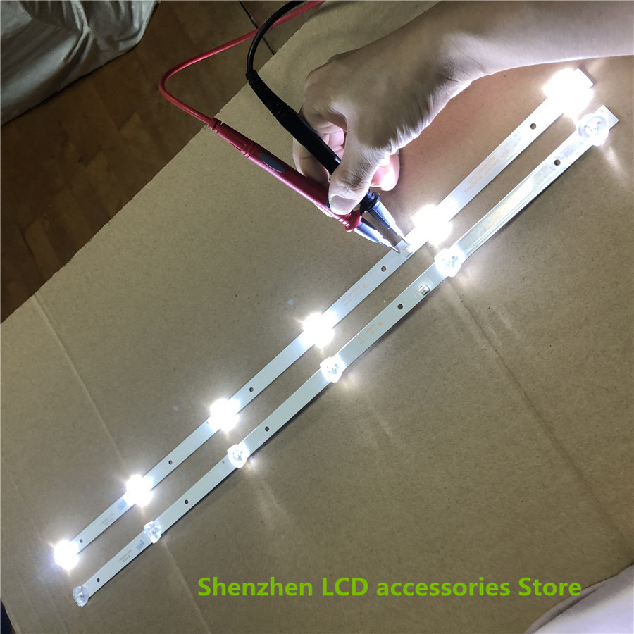 2Pieces/lot For New Led Backlight CC02320D562V04 For 32inch Strip LE-8822A SJ.HL.D3200601-2835BS-F 6v 6lamp 56CM 100%NEW