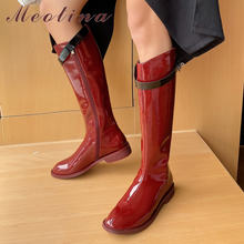 Meotina/сапоги для верховой езды; Женская обувь; Высокие сапоги