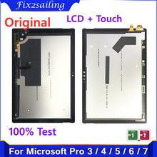 Lcd-Display Microsoft Surface-Pro Touch-Screen-Assembly 1796 for 3/1631/Pro/.. 7-1866