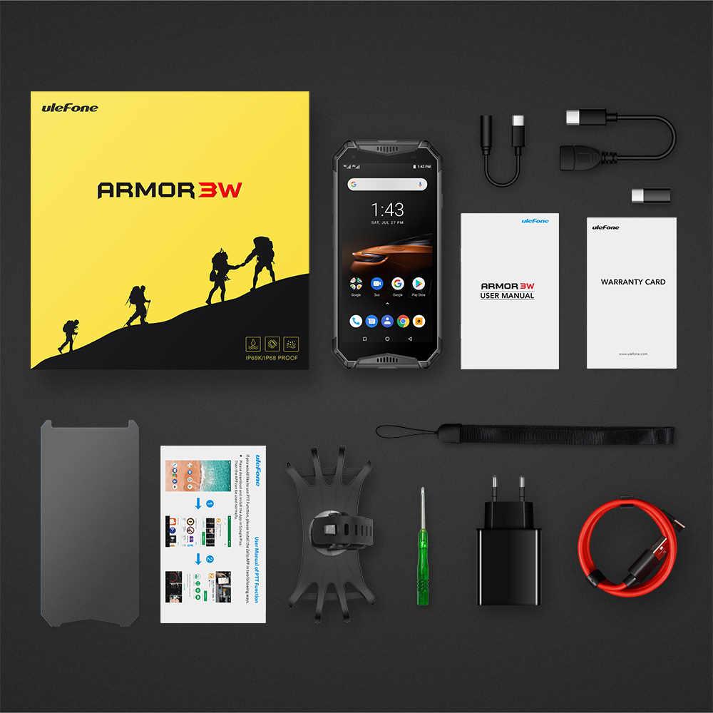 Ulefone 鎧 3 ワット防水頑丈な携帯電話 2.4 グラム/5 グラム wifi アンドロイド 9.0 エリオ P70 6 グラム + 64 グラム nfc グローバルバージョン 4G-LTE スマートフォン