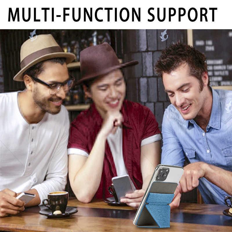 แม่เหล็กรถผู้ถือสำหรับiPhone 11 Pro Max XS X SE 6 7 8 Plus Samsung A51 S20 plus A50 โทรศัพท์กรณีDeformableยืน
