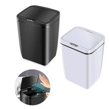 12L Automatic Trash Can Kitchen Wide Opening Sensor Eco-friendly Waste Garbage Bin Dustbin Household