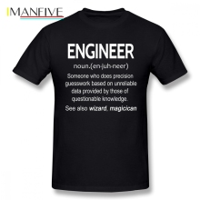 Engineer Noun Men T Shirt New Funko Pop Big Size Cotton Short Sleeve Custom Mens Shirts