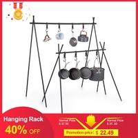 Naturehike ChenYi Aluminum Alloy Hanging Rack Outdoor Camping 8kg Bearing Weight Triangular Rack Clothes Storage Rack