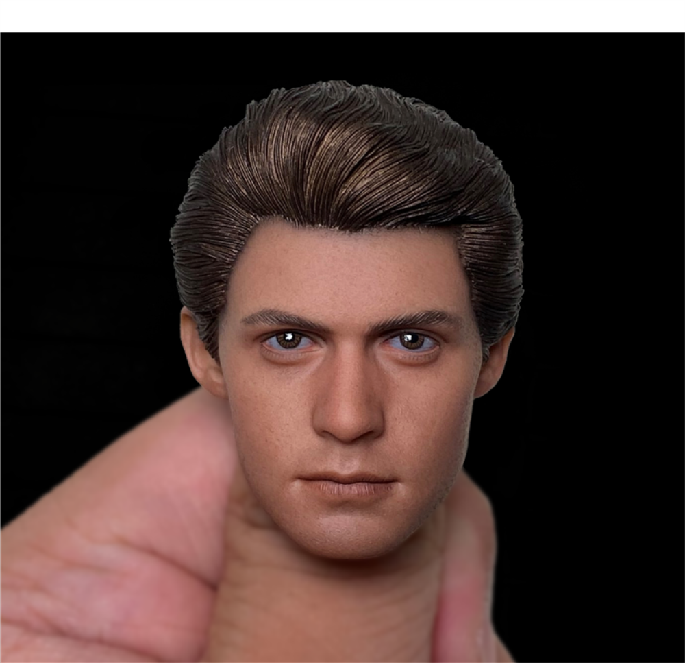LIMTOYS 1/6 Scale Spider-man Head Sculpt Carved For 12