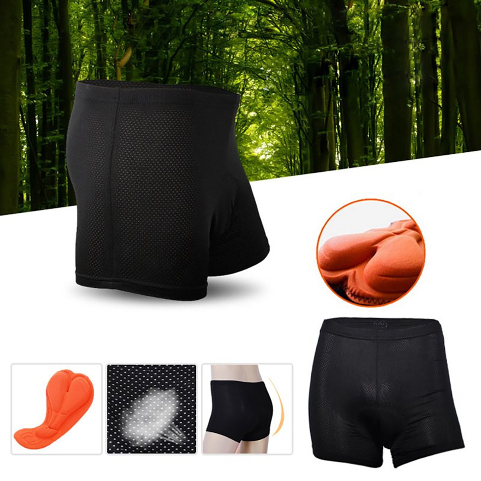 Details about  /Men Outdoor Sport Breathable Underwear Shorts Sponge Pad Bike Cycling Pants S4Q3