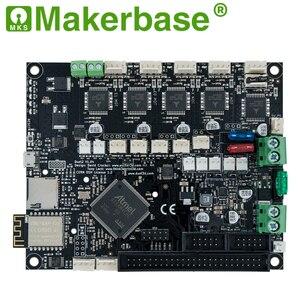 Image 2 - Makerbase 32 Bit Geklont Duet 2 Wifi V 1,04 Control Board Duex5 V 0,9 eine mit 4,3 oder 7,0 Pandue touchscreen für 3d Drucker Teile