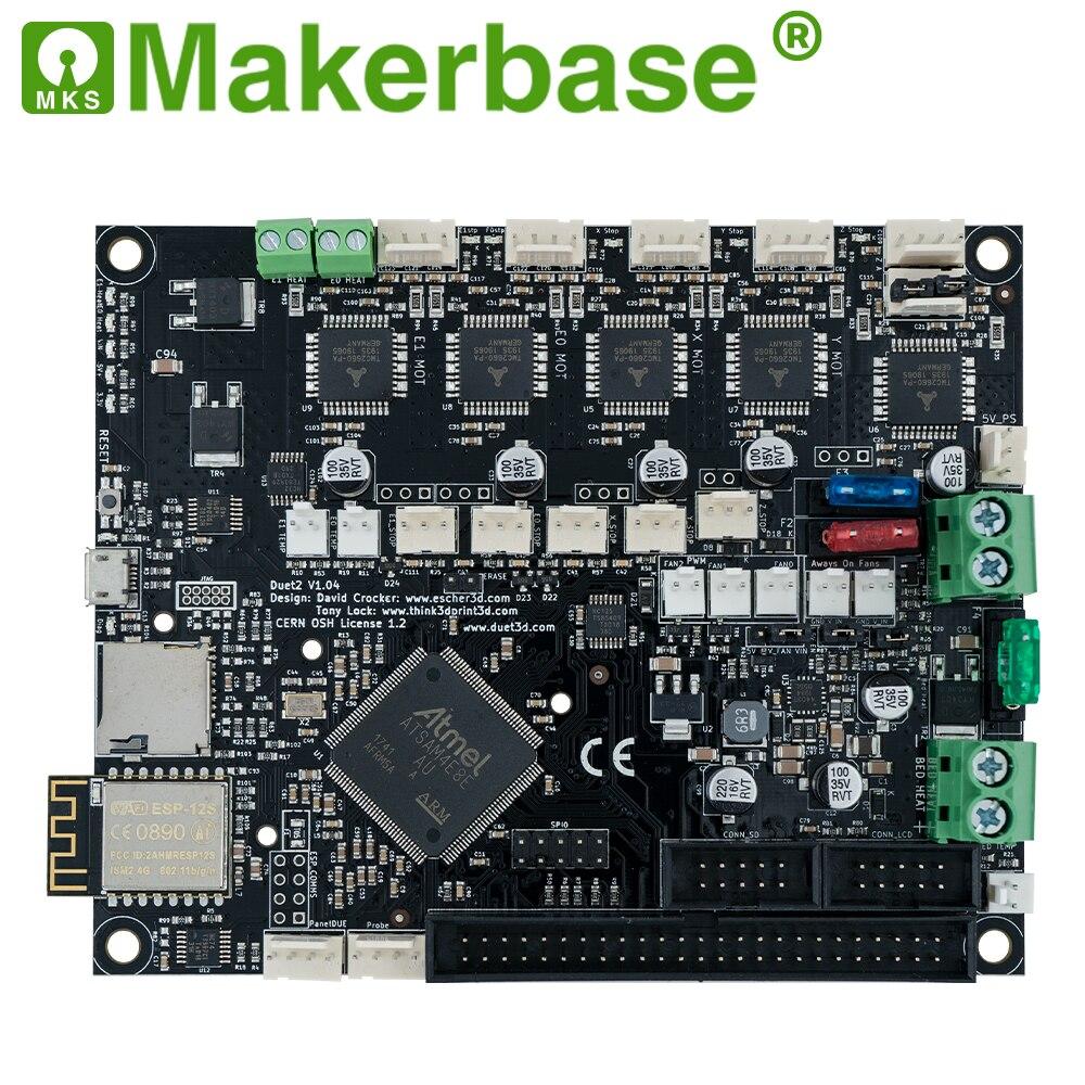 Makerbase 32 bits cloné duo 2 wifi V1.04 carte avec 4.3 ou 7.0 écran tactile Pandue pour pièces d'imprimante 3d CNC ender 3 pro - 3