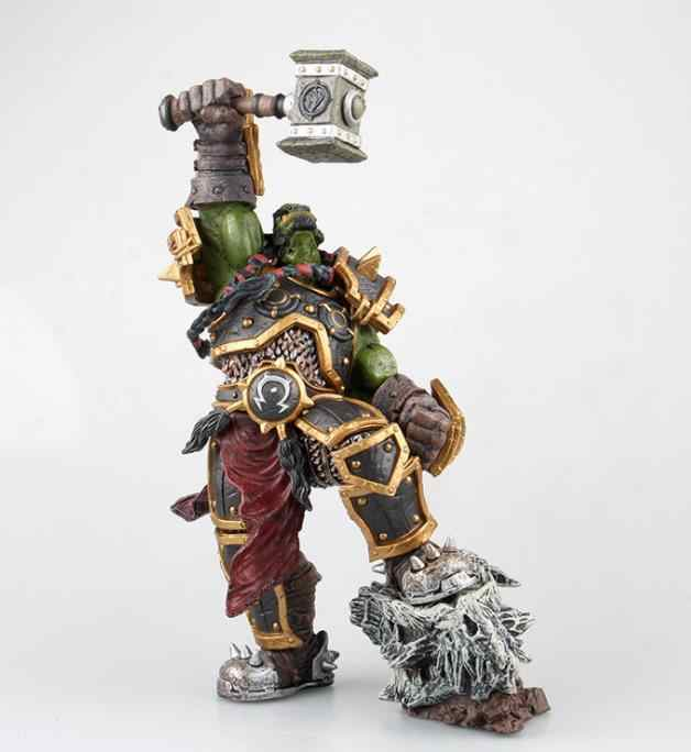 WOW World of Warcraft Orc Warchief Thrall PVC figurka statua nowy 26cm MK18