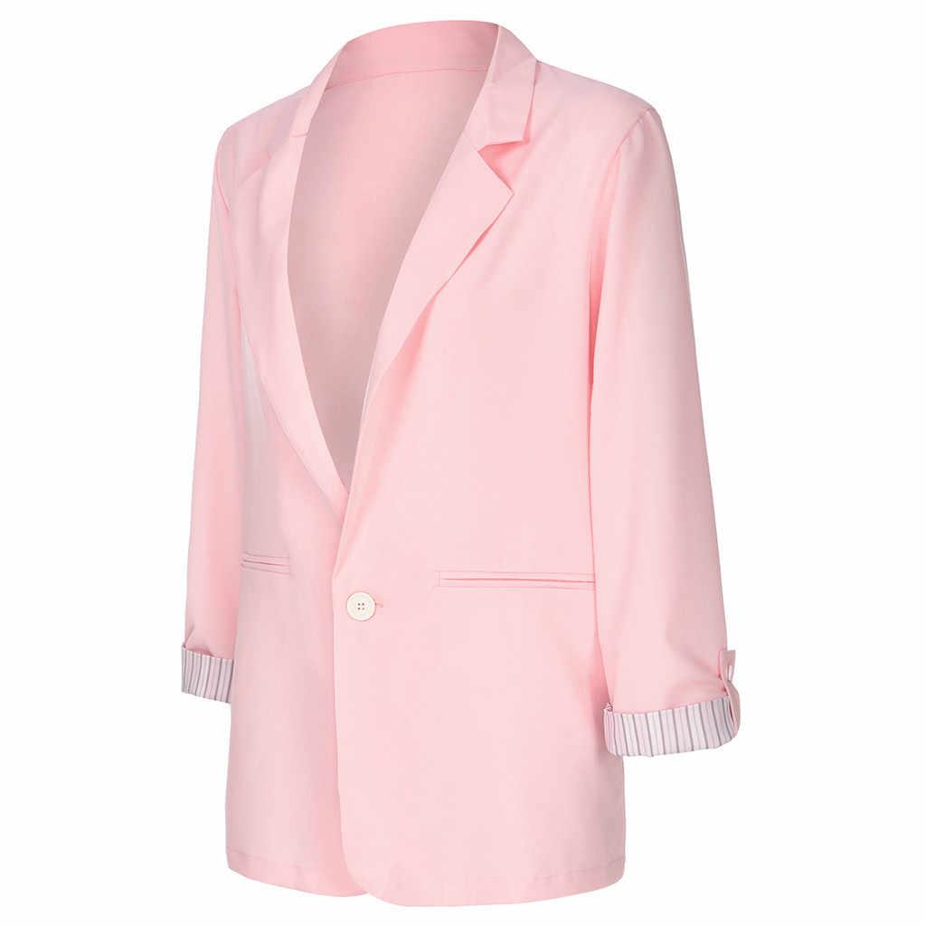 Camsgend 2019 женское осенне-зимнее пальто куртка с отложным воротником и длинными рукавами простая однотонная женская Куртка парка верхняя одежда Aug27