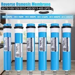 50/75/100/125/400GPD odwróconej osmozy membrana ro wody wymiana filtra system wody ro filtr picie wody oczyszczacz w Wkłady filtra wody od AGD na