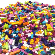 Building Blocks Bricks 500 Pieces Kids Creative Toys Figures for Compatible All Brands Blocks Girls Kids Birthday Gift