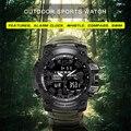 Мужские спортивные часы addies с компасом 50 м, многофункциональные военные наручные часы, ЖК цифровые часы с секундомером, швейцарские водонеп...