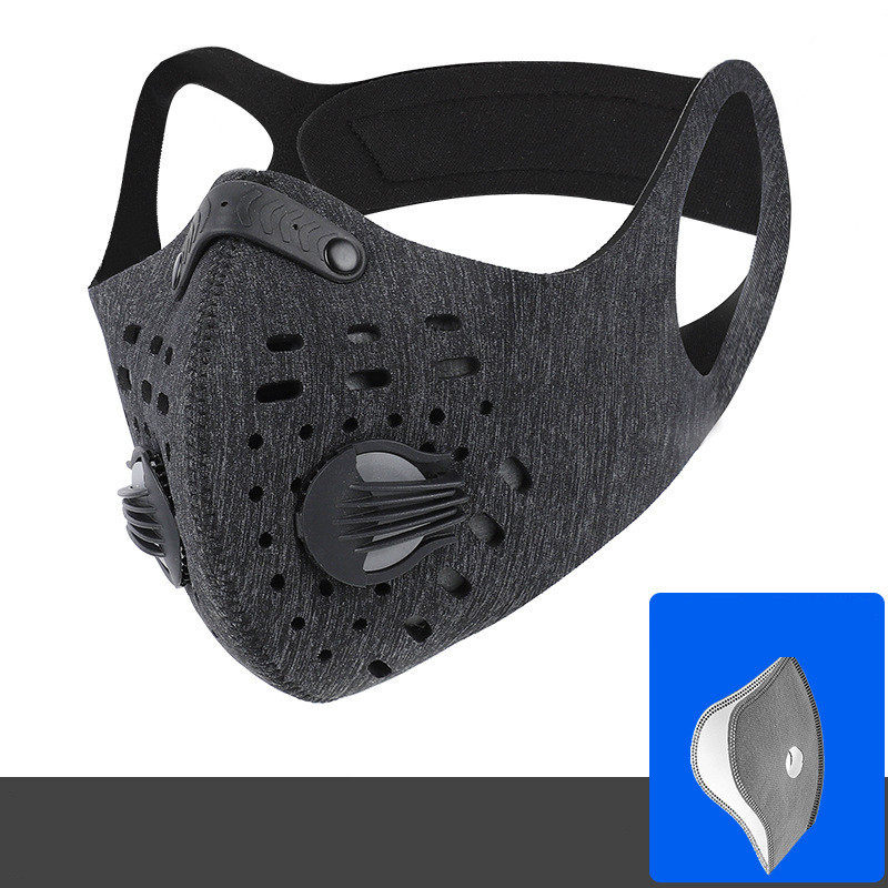 Cycling Face Cover With Filter Activated Carbon Running Training MTB Road Bike Cycling Face Cover