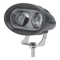 BORUiT 1 sztuk motocykl LED reflektor 12V lub 24V Moto reflektor 6000K motocykl LED dekoracyjna lampa 20W przeciwmgielne Spot reflektor na