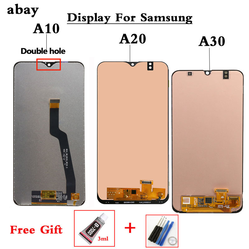 <font><b>LCD</b></font> For <font><b>SAMSUNG</b></font> <font><b>GALAXY</b></font> A10 A105 A105F A20 A20 A205 <font><b>A30</b></font> A305 <font><b>LCD</b></font> Display Touch Screen Digitizer Assembly <font><b>LCD</b></font> Screen Replacement image