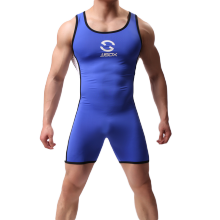 Jjsx Man Full Body Maillotten Wrestling Singlet Mens Body Building Badpak Gym Bodywear Man Strakke Badmode(China)