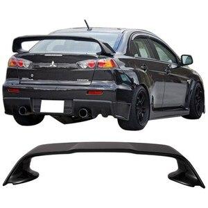 Mitsubishi Lancer accesorios Mitsubishi Lancer Spoiler Evo X evolución edición Spoiler negro Spoiler