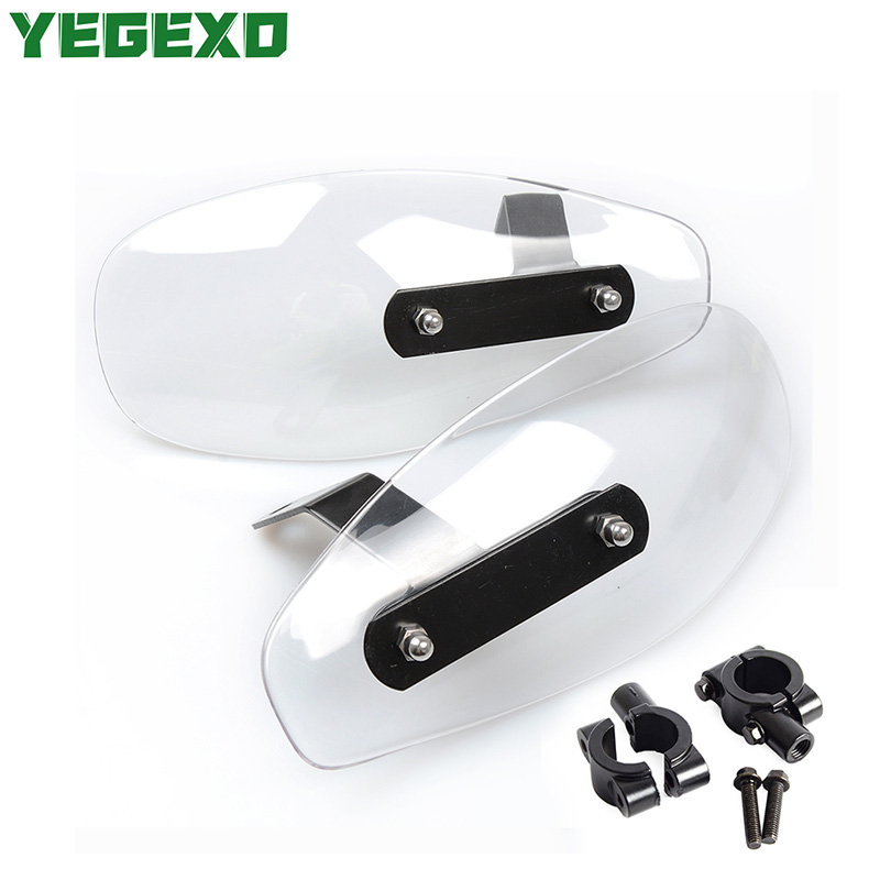 Acrylic Motorcycle Handguard Wind Shield Moto Accessories For HONDA x11 sh 125i st 1300 vfr 750 cbr 1000rr shadow 600 cb500x image
