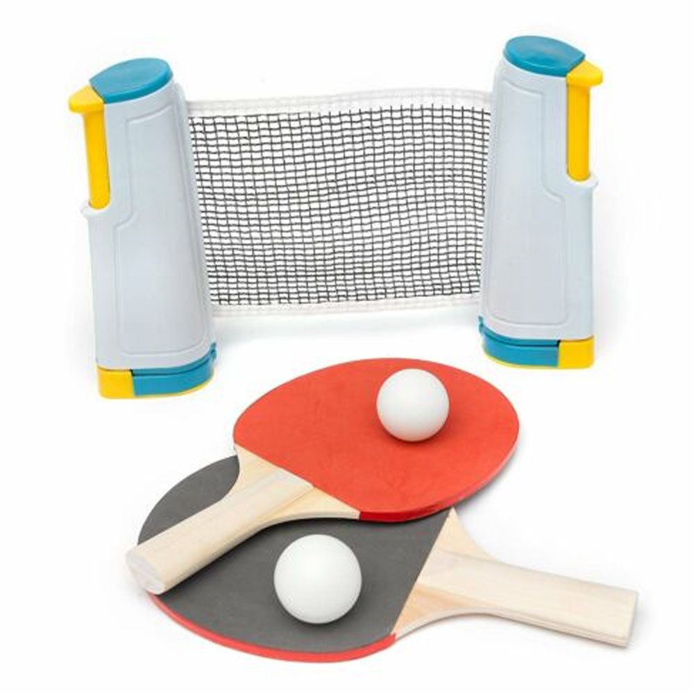 New Hot Table Tennis Net Home Sports Portable Anywhere Retractable Ping Pong Post Net Rack For Any Table