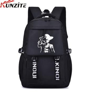 Kunzite New Fashion Female Rucksack Women Bag Canvas Backpack Feminina New Design Schoolbag College School Travel Pack