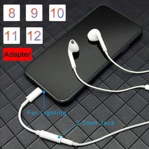 Image 5 - Adaptador de auriculares Lightning para iPhone 7 de alta calidad, Cable de Audio 2 en 1 de 3,5mm, adaptador de auriculares