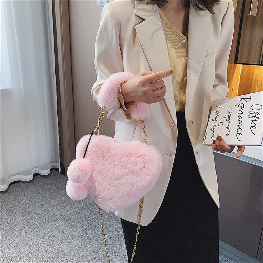 Ha226a268575844e68f08ce1c8e38b18bZ - Fashion Women Handbags | Cute Fluffy Fur