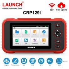 إطلاق CRP129i OBD2 تشخيص أداة ل ENG/AT/ABS/SRS متعدد اللغات تحديث مجاني إطلاق OBD 2 سيارة الماسح الضوئي ODB رمز قارئ