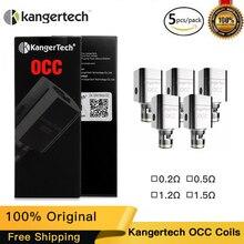 100% Original Kangertech OCC Coil Head Kanger Atomizer Core For kangertech Toptank Subtank mini Vape Coil E-cigs цена