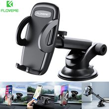 FLOVEME Car Phone Holder For iPhone X XR XS Max In Stand Mount Support Telephone Voiture