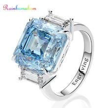 Обручальное кольцо rainbamabom обручальное с драгоценным камнем