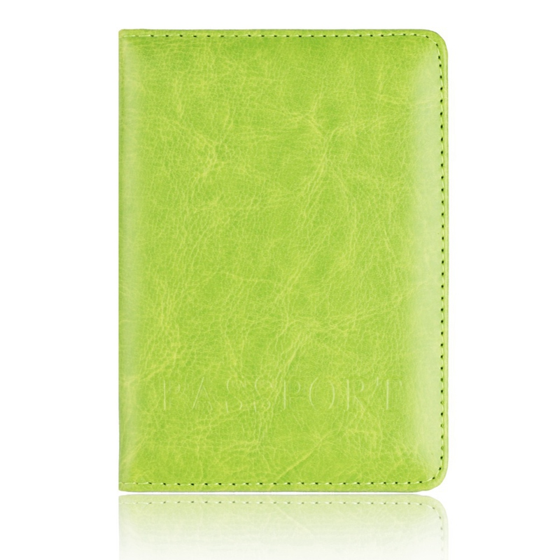 Держатель для карт кошелек многофункциональная сумка Обложка на паспорт держатель протектор бумажник для визиток Мягкая обложка для паспорта - Цвет: GR