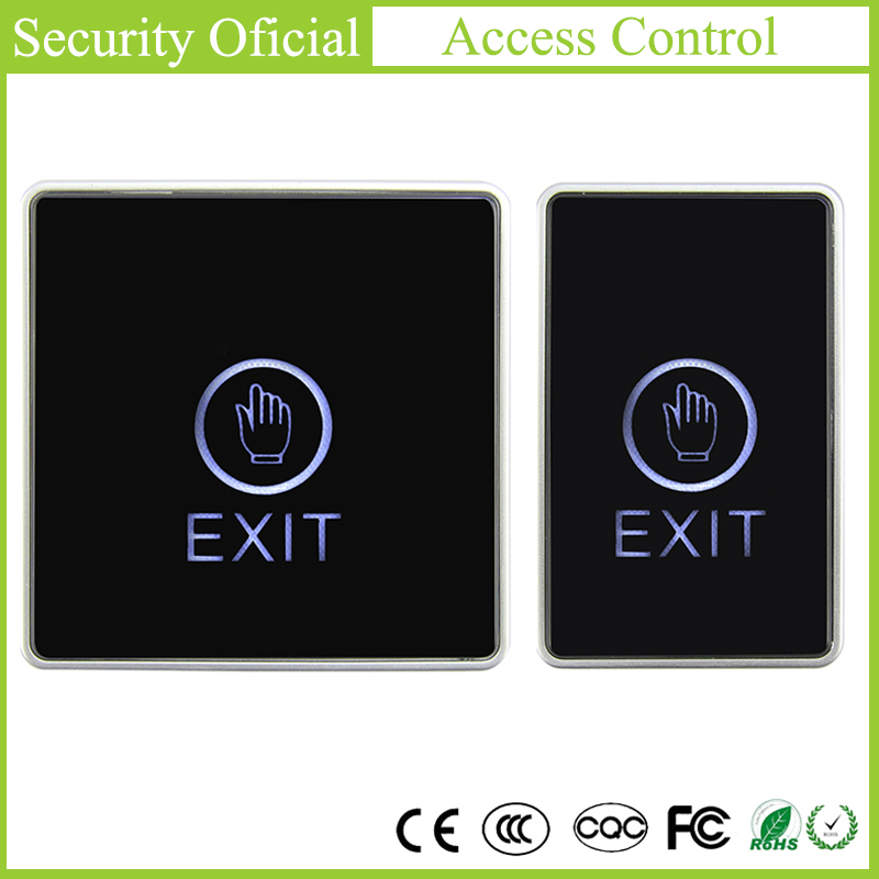 Push Touch Exit Button Door Exit Release Button Switch For Open Door Access Control System Suitable For Home Security Protection