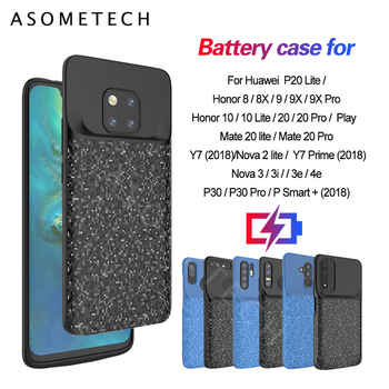 Battery Case Wireless Charger Cover 4700mAh Back Cover Cases for Huawei Mate 20 Pro Nova 3i 4e For Huawei Honor 8 8X 9X Pro 10