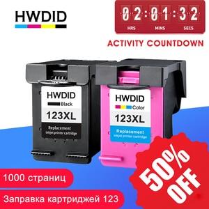 Image 1 - HWDID 123XL ומילא דיו מחסנית החלפה עבור HP 123 XL עבור Deskjet 1110 2130 2132 2133 2134 3630 3632 3638 4520 4522