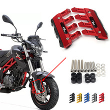 For Benelli TNT125 TNT135 Motorcycle Mudguard Front Fork Protector Guard Block Front Fender Anti fall Slider Accessories
