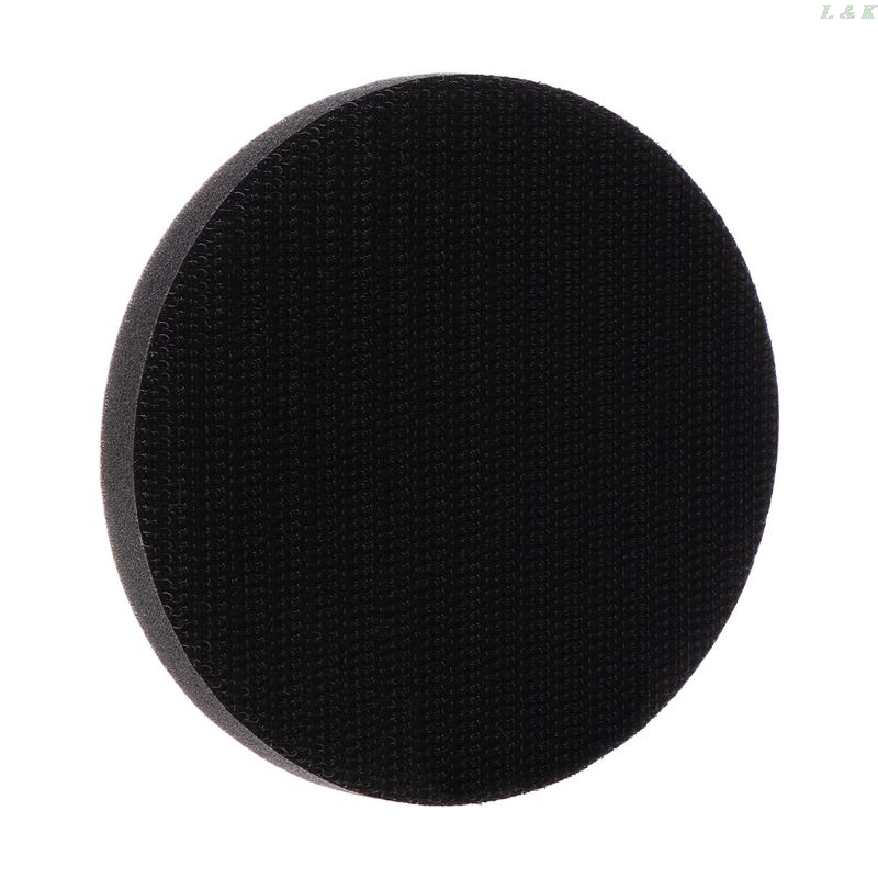 Soft Sponge Interface Pad For Sanding Pads Hook And Loop Sanding Discs For Uneven Surface Polishing Power Tools Accessories