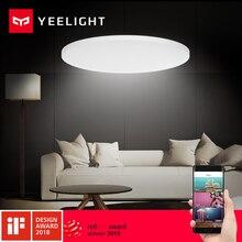 2018 yeelight led天井480ミリメートル32ワットの作業にmiホームアプリとgoogleホームと用キット