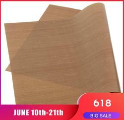 30*40CM odporna na wysoką temperaturę tkanina mata do pieczenia pieczenie Linoleum ponowne wykorzystanie papier olejowy arkusz grilla maty anty-olejowe