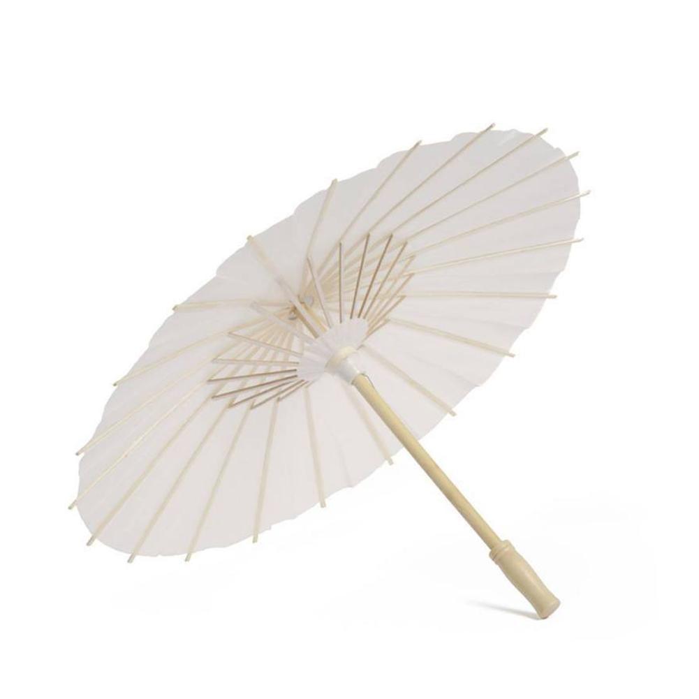 1PC New Cheap Chinese Vintage DIY Mini Paper Umbrella Wedding Photo Shoot Parasols Dance Props Pocket Oil Paper Umbrella Decor