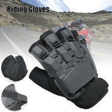 Motorcycle Bicycle Racing Gloves Non-slip Wear Resistant Breathable Semi-Finger Gloves XR-Hot(China)