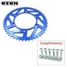 OTOM 520 Chain Motorcycle Rear Sprocket 52T For YAMAHA YZ125 YZ250 YZ 125 250 TTR230 WRF YZ250F YZ400F YZ450F YZF 426 450